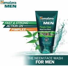 Himalaya Herbals Men Pimple Clear Neem Face wash 100ml - Acne Remove Face wash