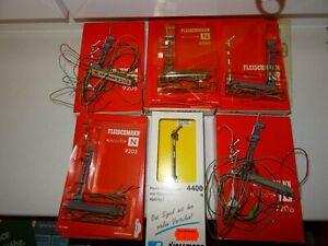 Spur N Fleischmann Viessmann Signale 9205 9206 6 Stück