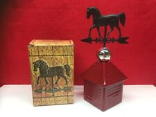 Vintage Avon Wild Country after Shave Weather Vane Decanter