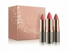 NEW - DELILAH - Mini Lip Trio - LIMITED EDITION - Long Wear Cruelty Free - Nudes