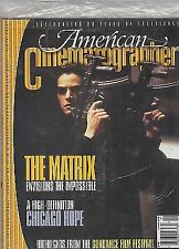 American Cinematographer, The Matrix, Chicago Hope, Idle Hands