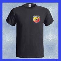 ABARTH Logo Racing Road Car Scorpion Shield NEW Men's T-Shirt S M L XL 2XL 3XL