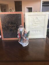 Duncan Royale History Of Santa Ii - Bavarian Santa 1985 Figurine w/ box Signed