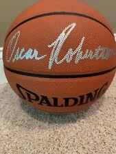 Oscar Robertson Milwaukee Bucks NBA Basketball Autographed with COA