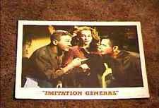 IMMITATION GENERAL 1958 LOBBY CARD #2 GLENN FORD
