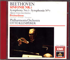 Otto KLEMPERER: BEETHOVEN Symphony No.7 Prometheus CD Sinfonie Philharmonia 1955