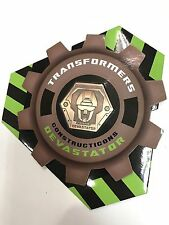 Takara Tomy Transformers Encore 20 Devastator Commemorative Medal COIN Only