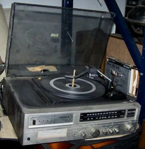 Vintage Pioneer Centrex TH-2211 8 Track Player / Turntable / AM/FM Stereo System
