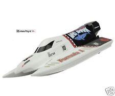 Amewi Mad Shark Brushless RTR Set mit Pistolenfernsteuerung 43 cm Speedboot