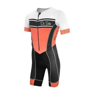 DeSoto Men's Forza Flisuit Sleeved Trisuit - 2021
