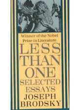 Less Than One: Selected Essays (King Penguin) By Joseph Brodsky