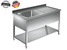 Waschbecken küche edelstahl  Gastgewerbliche Spültische- & Waschbecken | eBay