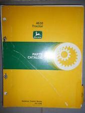 John Deere tracteur 4630 : parts catalog 1978