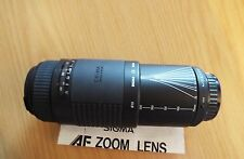 Sigma 75-300 mm 1:4 F4-5.6 DL objectif Pentax PK adapter autofocus photographie