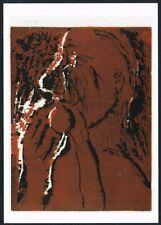 Postcard. Art/Painting. 'Head'. G. Baselitz. Tate Gallery. Unused.