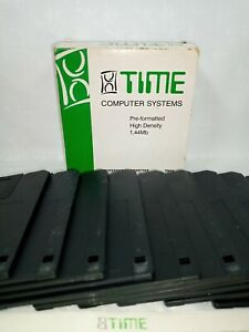 Time Computer Systems : 2HD 1.44Mb 1 x 10pcs Diskettes Brand New Unused