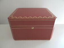 CARTIER WATCH BOX CRCO000462 + BOOKS ETUI MONTRE + LIVRETS