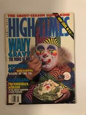 WAVY GRAVY PRINCE of POT JUNE 1993  HIGH TIMES MAGAZINE