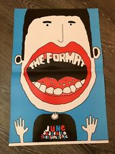 The Format Gig Concert Poster June Anathallo And Tickertape Parade 2006