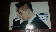 Big bang taeyang starcard rare OFFICIAL photocard card  Kpop k-pop u.s seller