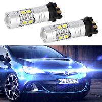 Xenon White Error Free PW24W LED Bulbs For BMW F30 3 Series Daytime Lights JX