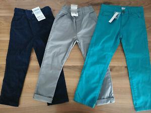 boys 4-5 years bundle trousers all new Next JoJo Maman Bebe Charanga