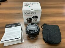 Rokinon 12mm F2.0 High Speed Wide Angle Lens for Sony E-Mount - Black