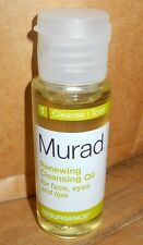 Murad Renewing Cleansing Oil for Face Eyes & Lips 1 oz