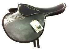 New Best Real Quality Synthetic Race Exercise Saddle Black Light Weight