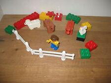 DUPLO LEGO  FARMYARD HORSE SHEEP HEN ANIMAL MAN PLAYFIGURES  CONSTRUCTION BRICKS