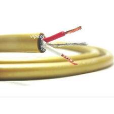 5C Copper silver plade grade fever HIFI audio cable Rca cable DIY sell per 1m