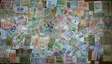 500 WORLD Notes LOT SET MIX Various Countries Periods Denominations VG-UNC #138