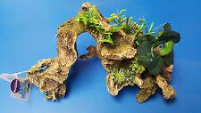 Kazoo Driftwood with Plant Large size Aquarium Ornament