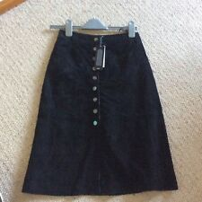 Black suede midi skirt warehouse brand new with tags rrp £89.00
