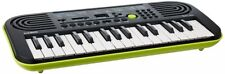 Casio Electronic Mini Keyboard 32 SA-46 Black / Green With Tracking From Japan