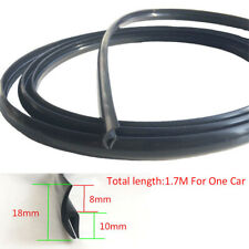 1.7M Seal Strip Trim For Car Front Windshield Sunroof Weatherstrip Rubber Black(Fits: 2006 Volvo)