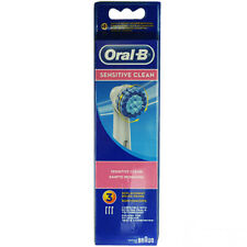 Oral B testina di ricambio EBS17 sensitive clean 3pz