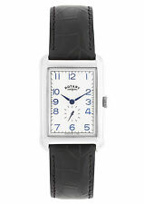 Rectangle Stainless Steel Rotary Wristwatches