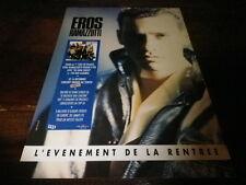 EROS RAMAZOTTI - Publicité de magazine / Advert !!! EVENEMENT DE LA RENTREE !!!