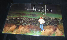 """HOWARD JONES Dream Into Action (1985 """"In-Store Only"""" Promo Poster)"""