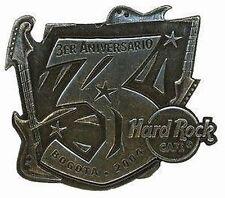 Hard Rock Cafe BOGOTA 3RD Anniversary Pin. RARE