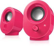 SpeedLink Snappy Stereo USB Speaker Lautsprecher pink F10-314168