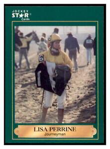 1991 Horse Star Jockey Cards Lisa Perrine #157