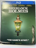 NEW ROBERT DOWNEY JR SHERLOCK HOLMES SE BLU RAY W/ SLIP COVER