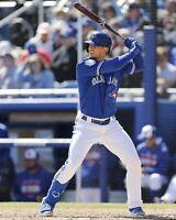 Cavan Biggio Toronto Blue Jays UNSIGNED 8x10 Photo