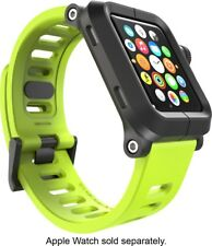 Lunatik EPIK Case + Silicone Band for Apple Watch 42mm (Series 1) - Green/Black