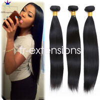 100g 100% Brazilian Virgin Remy Human hair Body Wave Weave Extensions straight