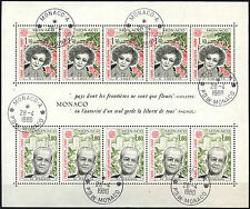 Monaco 1980 SG#MS1443 Europa Cto Used M/S #D40650