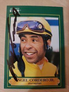 Angel Cordero Jr., Autographed 1991 Jockey Star Card #64 (VG) Only 1 on Ebay!!