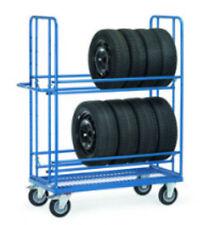 Fetra Reifenwagen Reifentransportwagen 400 kg Tragkraft 4596 .